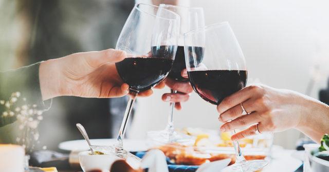 vad väger en flaska vin