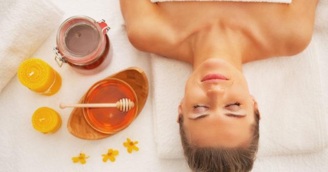 honung för huden