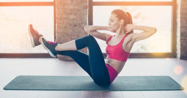 platt mage övningar
