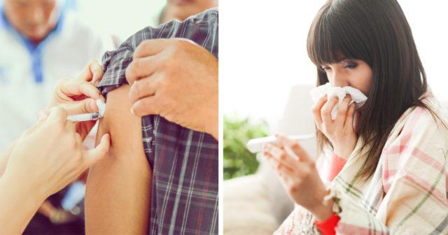 vaccination mot förkylning