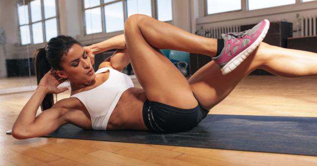hur tränar man magen