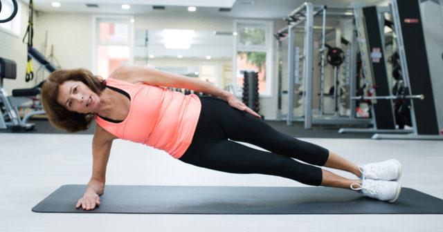 hur tränar man bort magen
