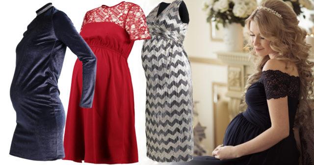 Festmode för gravida  klänningar till jul och nyår  15efe4e4c2570