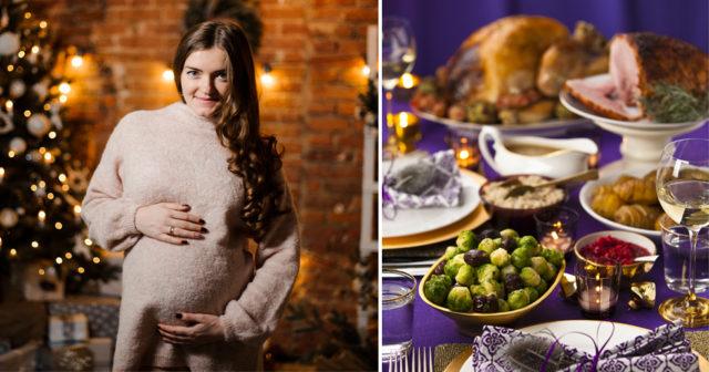 Gravid och sugen på julbord? Här är julmaten du KAN äta!