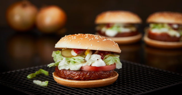 mcdonalds hamburgare kcal