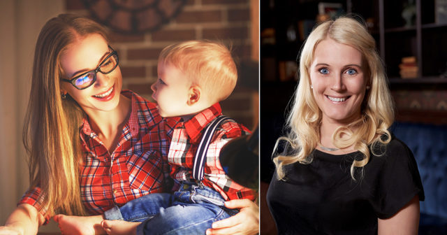 Therese Albrechtson: Vi kvinnor måste kunna ha barn OCH karriär!