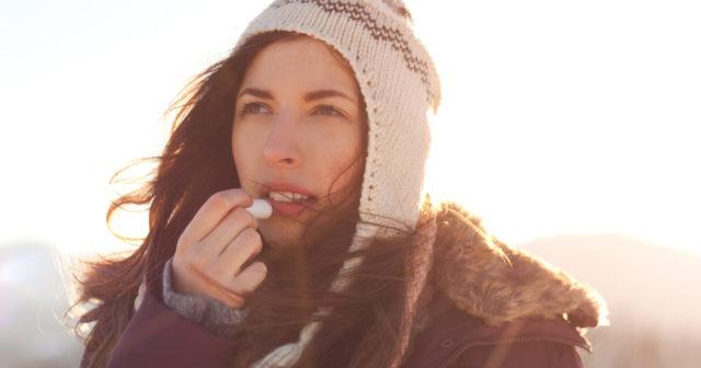 hur får man bort torra läppar