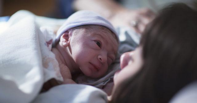 mensvärk utan mens efter förlossning