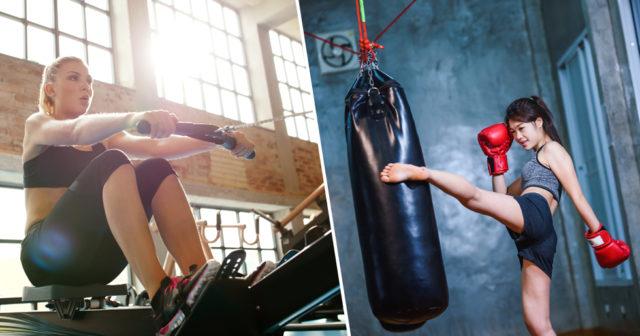 kickboxning gå ner i vikt