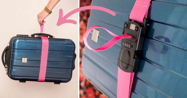 Smarta uppfinningen löser 3 vanliga kriser med resväskan