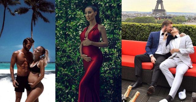 Så avslöjade svenska kändisarna sina graviditeter