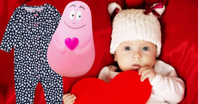 Söta presenter till din bebis på Alla hjärtans dag 2018!