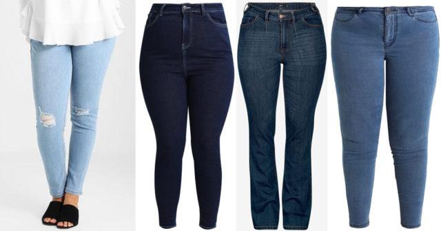 jeans stora storlekar