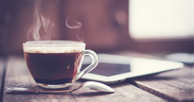 blir man pigg av kaffe