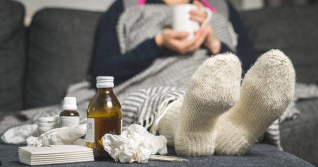 feber vid förkylning