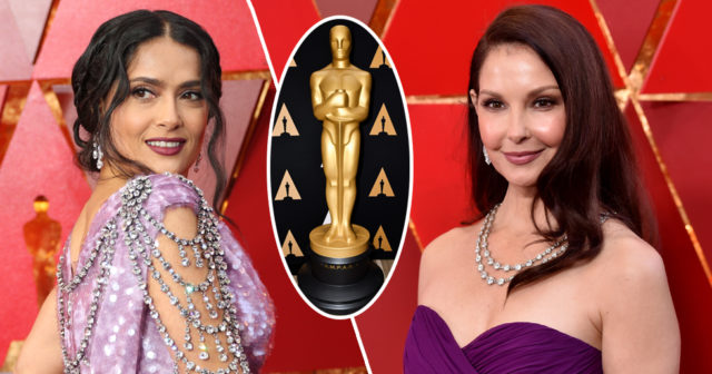 Efter #metoo – här är kvinnornas starka markering på Oscarsgalan