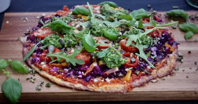 Bästa måndagsmaten: Glutenfri blomkålspizza