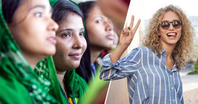 Klädkedjan skänker 10 procent till kvinnliga textilarbetare 8 mars