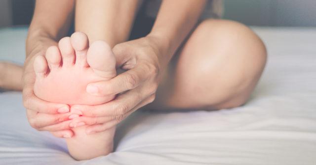Kliar under foten