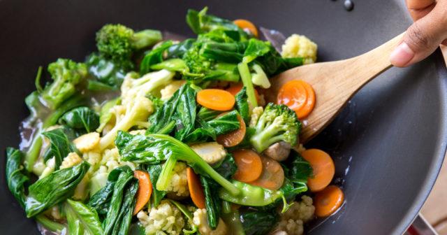 att äta vegetariskt