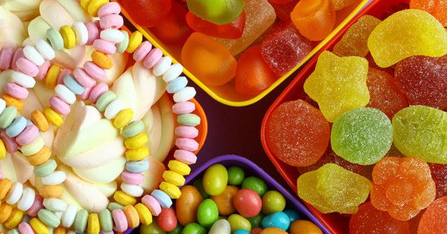 vilket godis innehåller gelatin