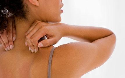 ont i leder och muskler vid mens