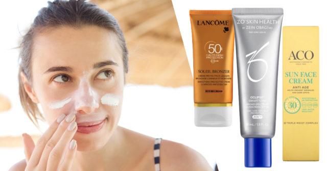 solskyddsfaktor för ansiktet
