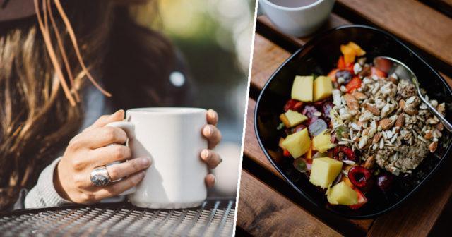 Stor frukost ett smart viktknep