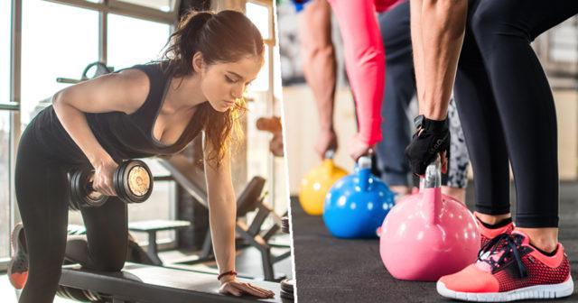 övningar att göra på gymmet