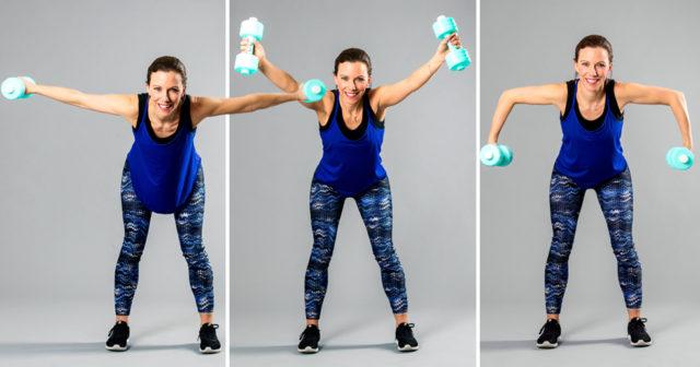 träna skuldror gym