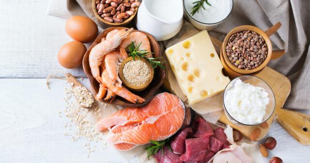kan man äta för mycket protein