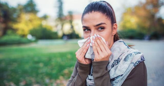 varför rinner ögonen när man är förkyld