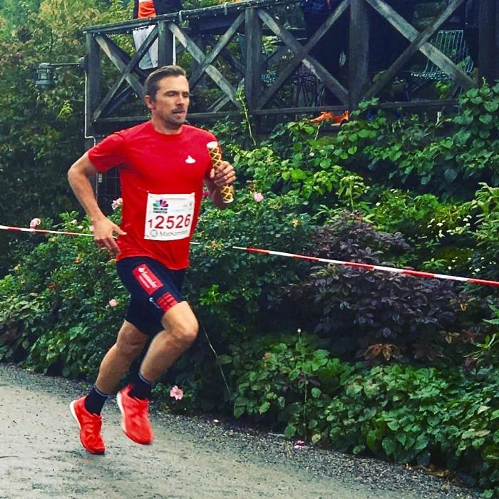 Johan Olsson sprang Bellmanstafetten för andra året i rad.