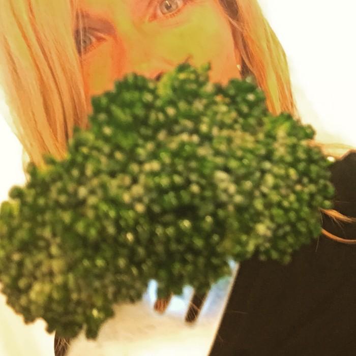 Broccoli - världens bästa och godaste grönsak.
