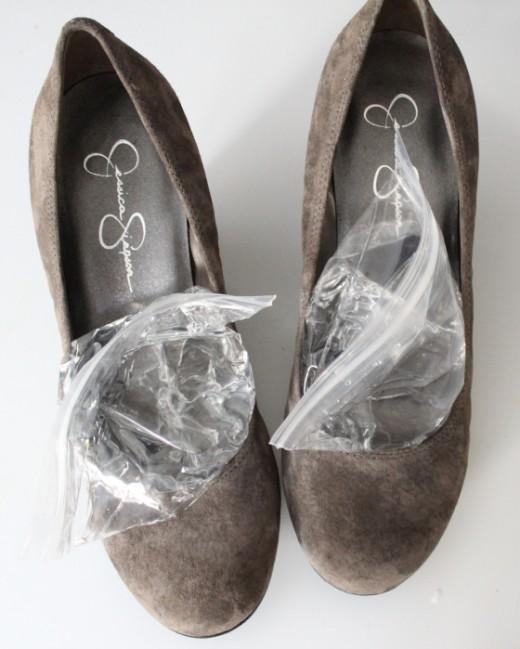 för trånga skor