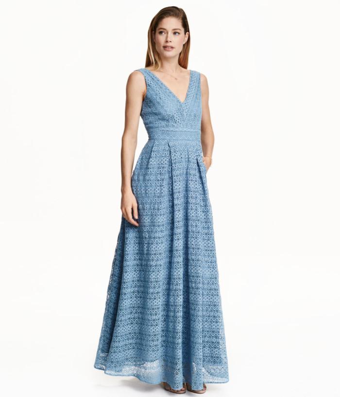 Maxiklänning i spets H&M