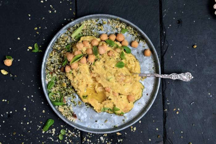Hummus med supermat