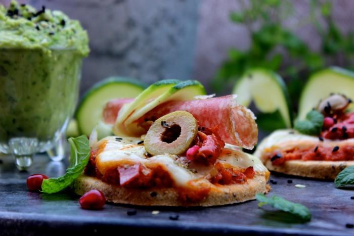 Mini pizza lchf