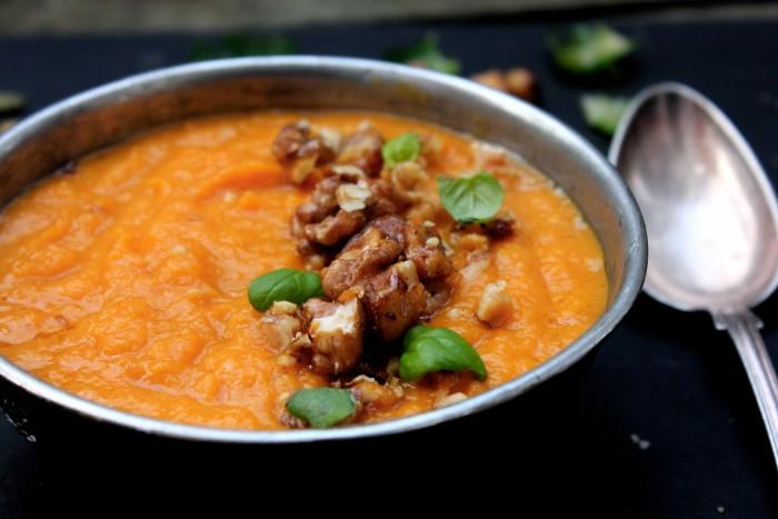 mejerifri morotssoppa med ingefära
