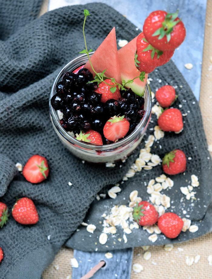 overnightoats med yoghurt