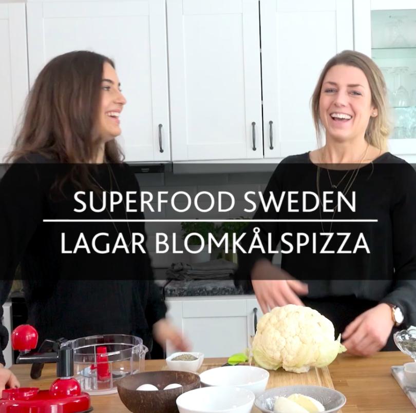 Jenny Linnea lagar blomkålspizza