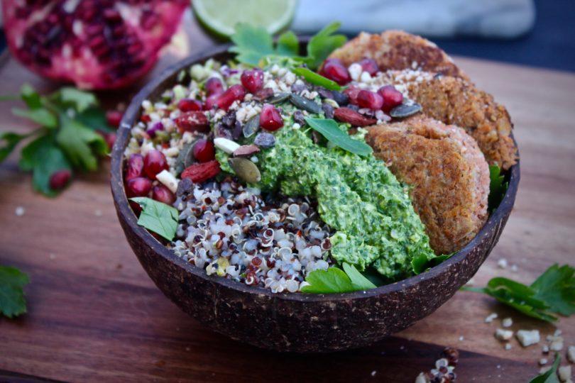 vegetarisk bowl recept