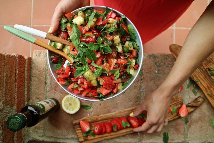 fruktig salsa