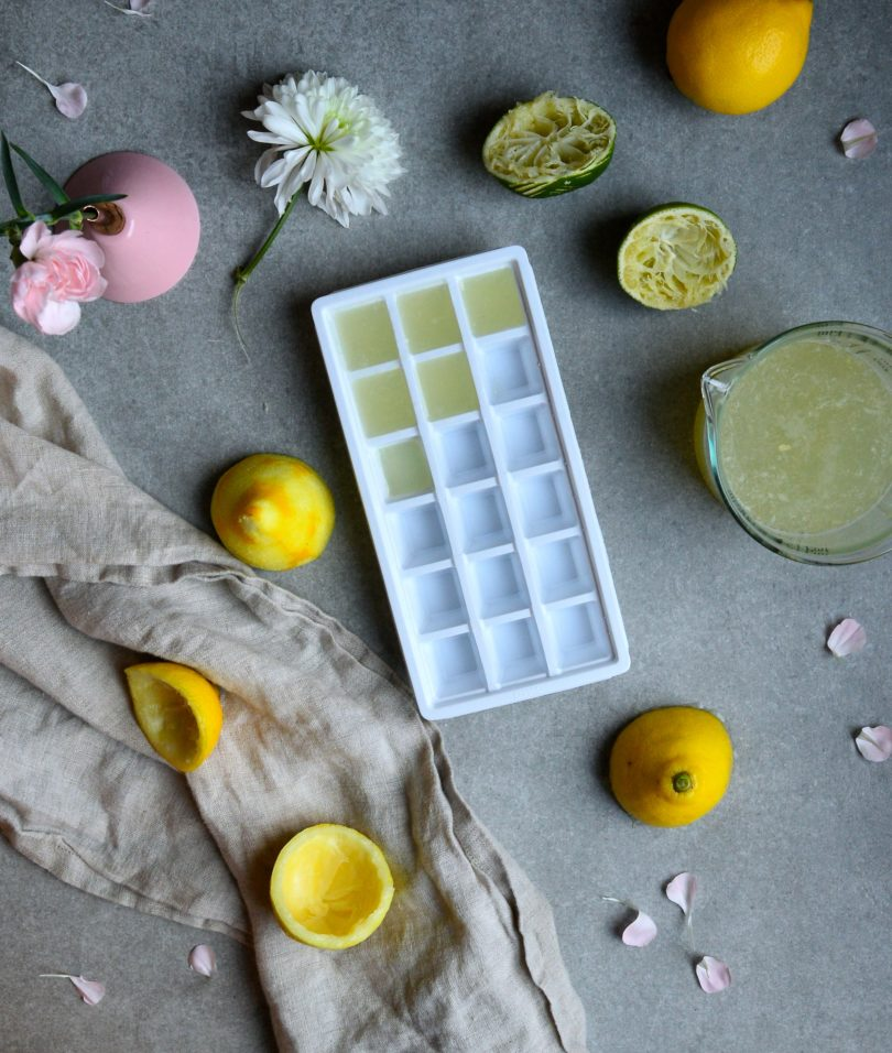lime och citronisbitar