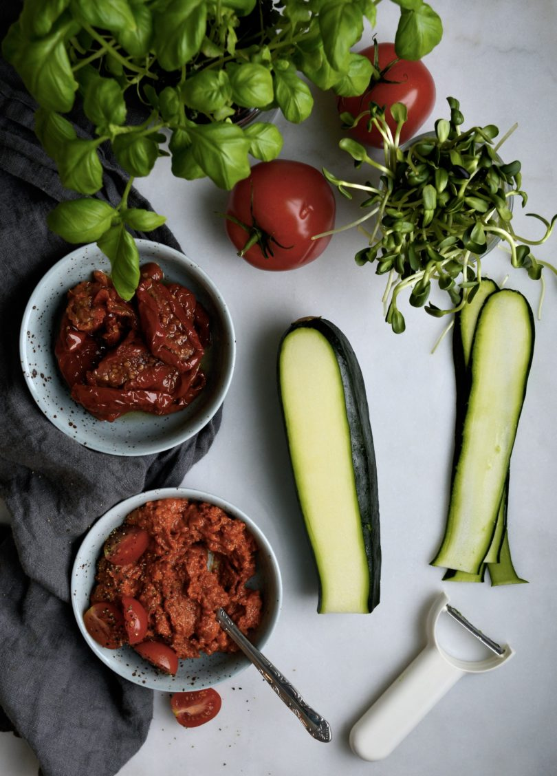 rawfood zucchinirullar