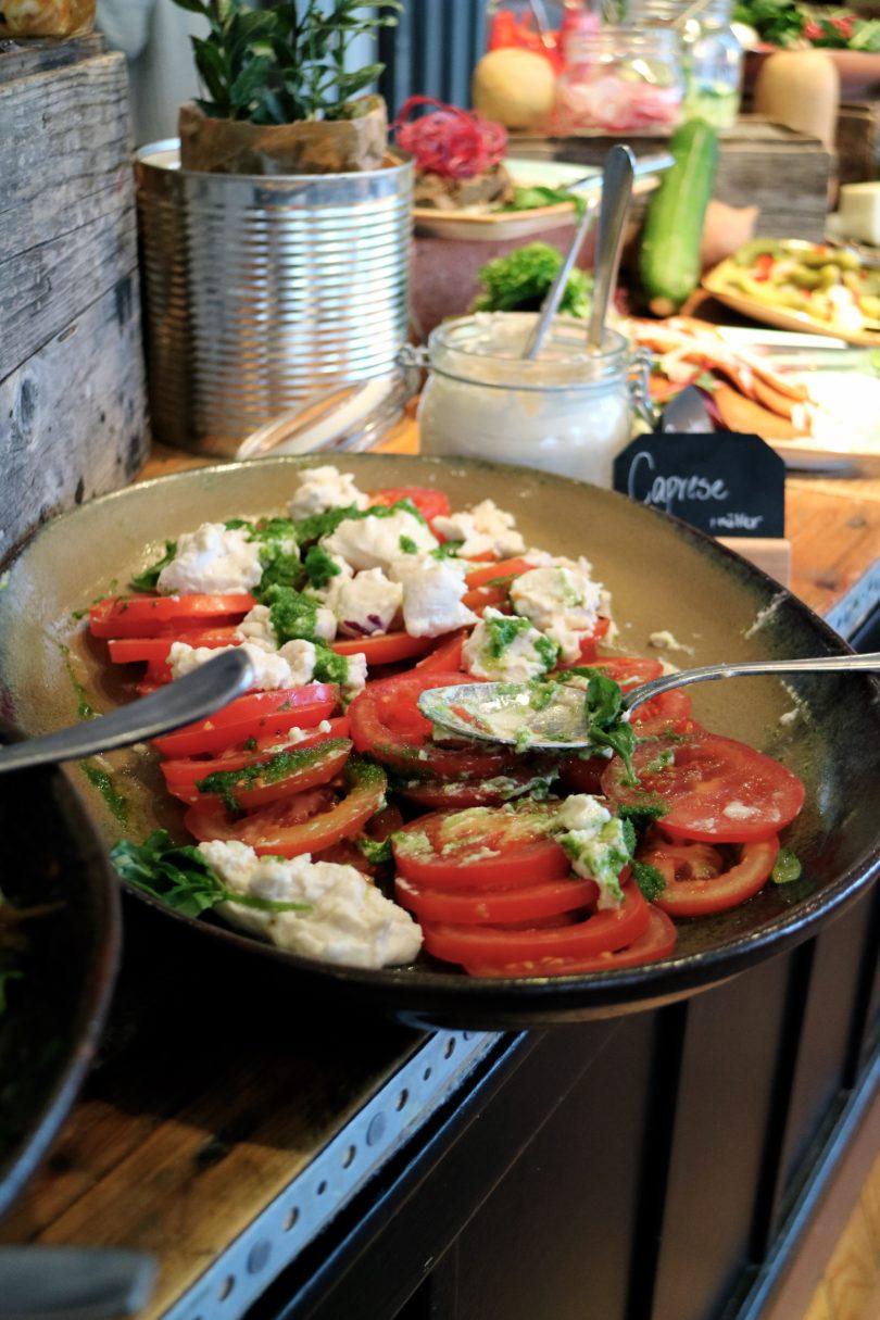 tomat och mozarella
