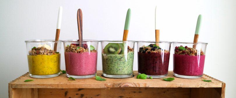 fem nyttiga smoothies