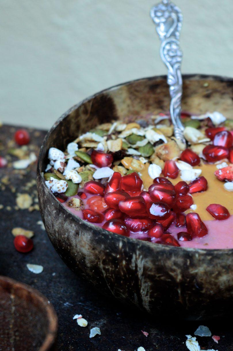 Granatäpple smoothie
