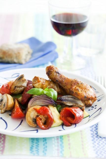 stekt kyckling kalorier