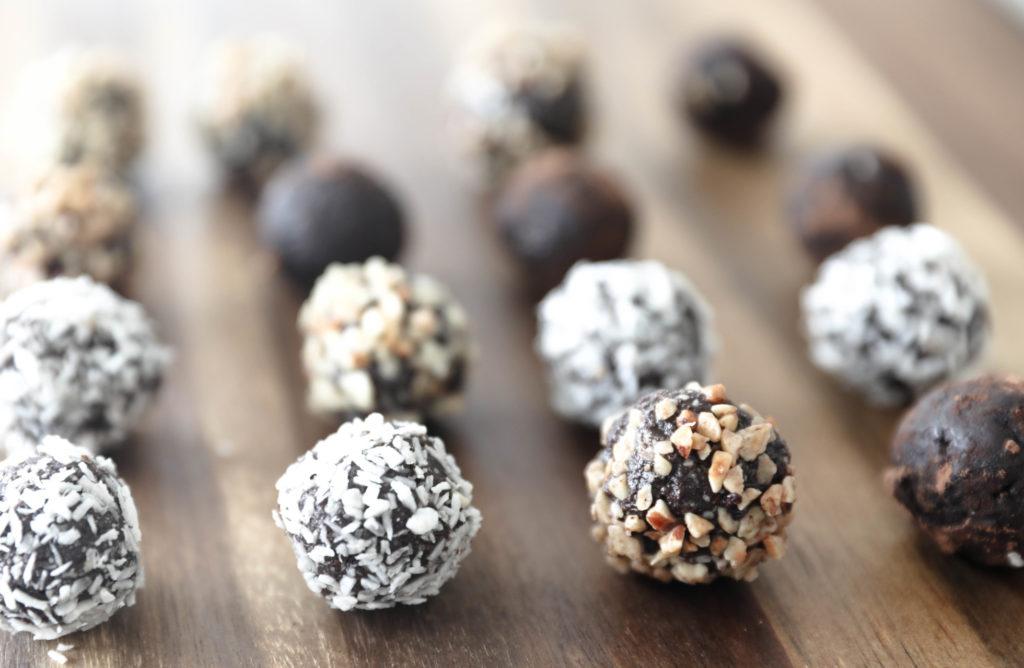 raw chokladbollar dadlar